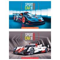 """Альбом для рисования 40л., А4, на скрепке  """"Cool sport car"""""""