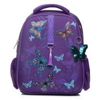 """Рюкзак ХАТ ERGONOMIC plus """"Танец бабочек"""" NRk_45015 38*29*16см,EVA материал светоотраж.2отд.,2карм."""