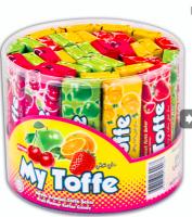 """Жевательные конфеты """"MY TOFFE MIX"""" 8*40*25 гр. (фруктовое ассорти)"""
