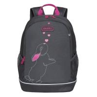 Рюкзак школьный /1 темно-серый