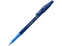 Ручка шариковая Stabilo, 0.5мм, непрозрачный корпус, колпачок с клипом, стержень синий
