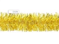 Мишура, длина 2 м, диаметр 9 см, ЗОЛОТОЙ цвет